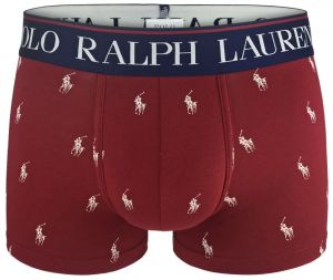 POLO RALPH LAUREN - modern fashion logo red boxerky