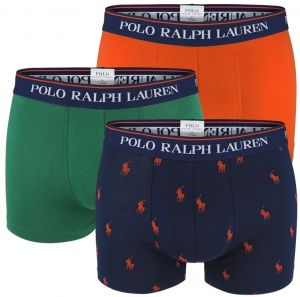 POLO RALPH LAUREN - 3PACK modern fashion color boxerky s logom