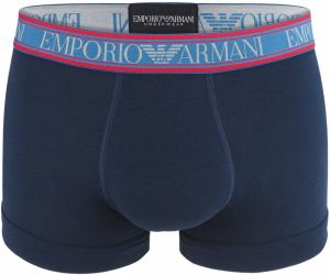 EMPORIO ARMANI - stretch cotton marine boxerky