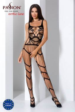 Čierne bodystockings BS058
