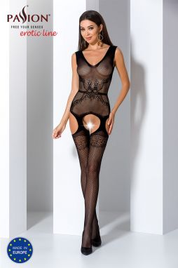 Čierne bodystockings BS062