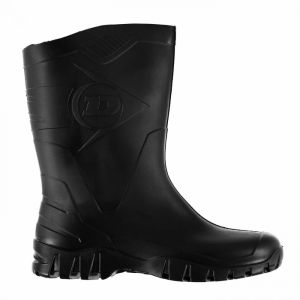 Dunlop Mens Half Wellingtons
