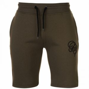 Fabric Embroidered Jogging Shorts