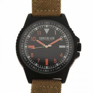 SoulCal Colour Black Watch Mens