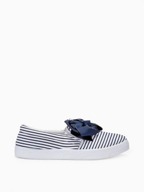 Larica Women's trainers with bow LR259 white