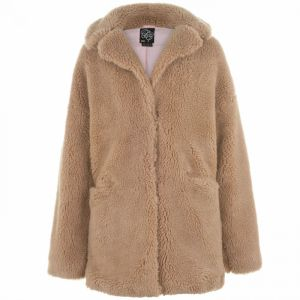 Fabric Teddy Coat
