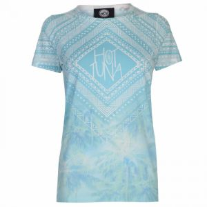 Hot Tuna Sublimation T Shirt Ladies