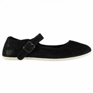 Slazenger Canvas Mary Jane Ladies Shoes