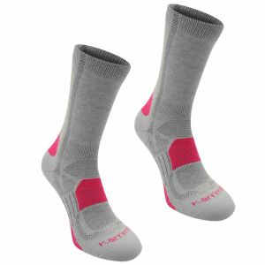 Karrimor Walking Socks 2 Pack Ladies