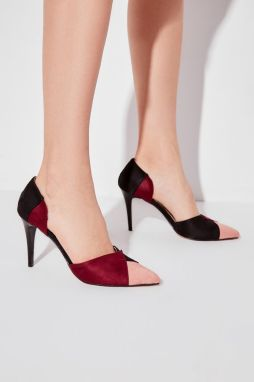 Trendyol Multicolored Suede Women's Heels