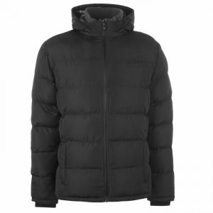Lee Cooper 2 Zip Bubble Jacket Mens