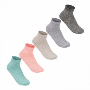 Giorgio 5 Pack Marl Socks Ladies