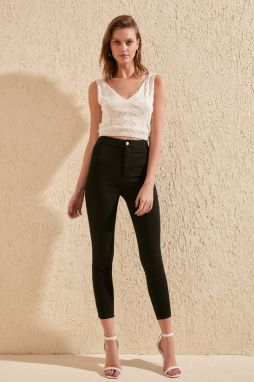 Trendyol Black High Waist Jegging Jeans