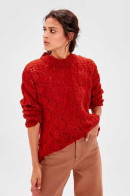 Trendyol Tile Blinded Bicycle Collar Knitwear Sweater