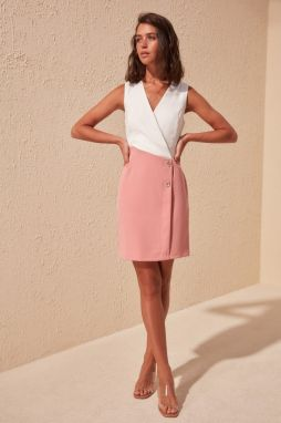 Women's dress Trendyol Pink Block