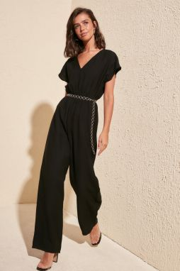 Women's jumpsuit Trendyol Gipe Detailed