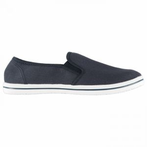 Slazenger Mens Slip On Canvas Shoes