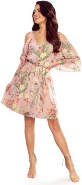 NUMOCO Woman's Dress 292-1 Pink/Flowers