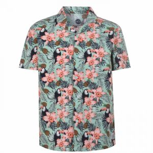 Hot Tuna Short Sleeves All Over Printed Shirt Mens