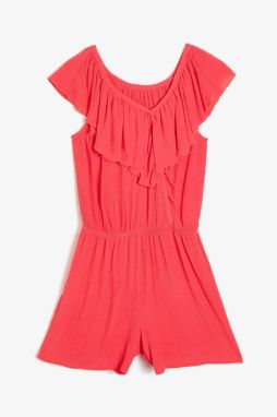 Koton Red Girl Jumpsuit