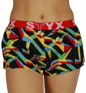 Women's shorts Styx art sports rubber triangular (T957)