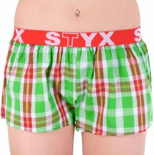 Women's shorts Styx sports rubber multicolored (T633)