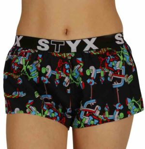 Women's shorts Styx art sports rubber structure (T958)
