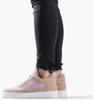 Filling Pieces Low Top Plain Cape Suede Nude 29726201888PFH