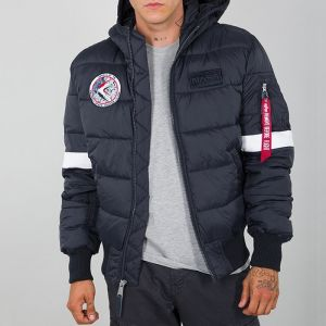 Alpha Industries Hooded Puffer FD NASA 198121 07