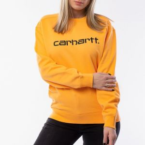 Carhartt WIP W' Sweatshirt I027475 POP ORANGE/BLACK