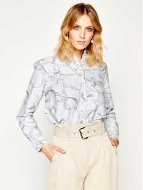 Lauren Ralph Lauren Košeľa 200786802 Modrá Regular Fit