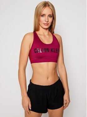 Calvin Klein Performance Podprsenkový top Medium Support 00GWF0K157 Ružová