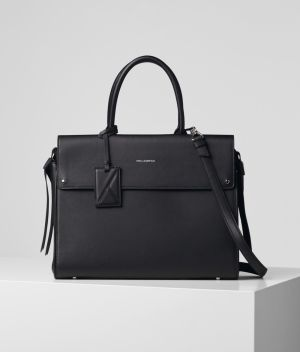 Shopper Karl Lagerfeld K/Ikon Lg Top Handle - Čierna -