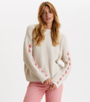 Sveter Odd Molly Oh Wow Sweater - Hnedá