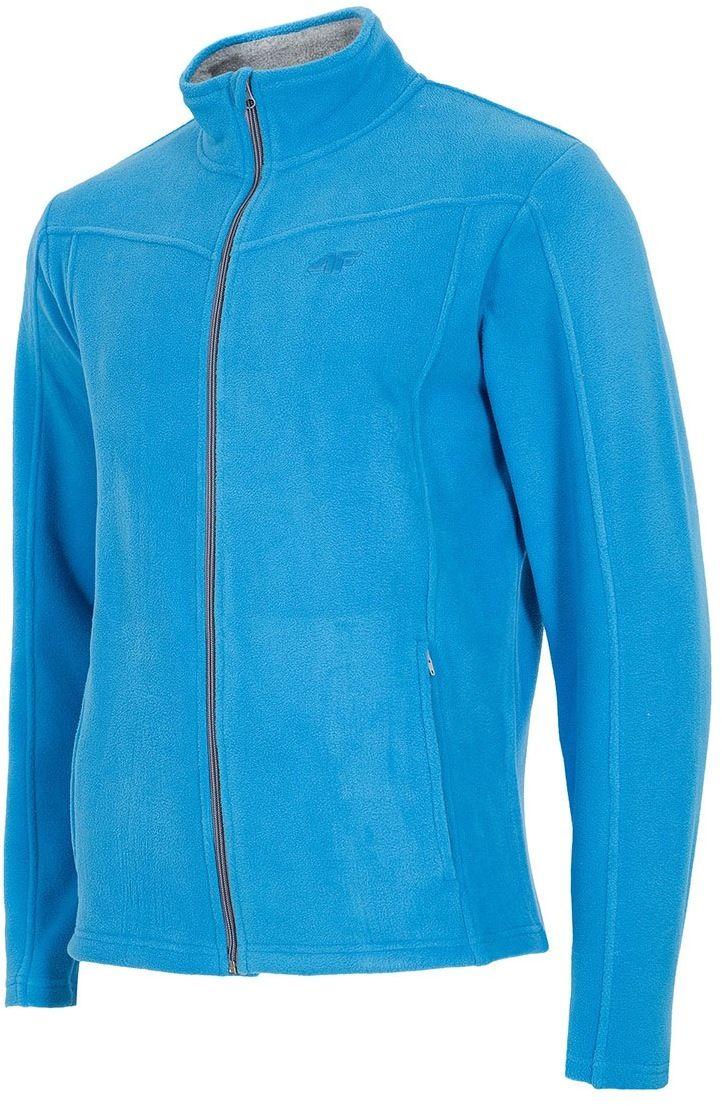 Pánska športová flísová mikina Blue značky 4F - Lovely.sk d4c61ebdd1
