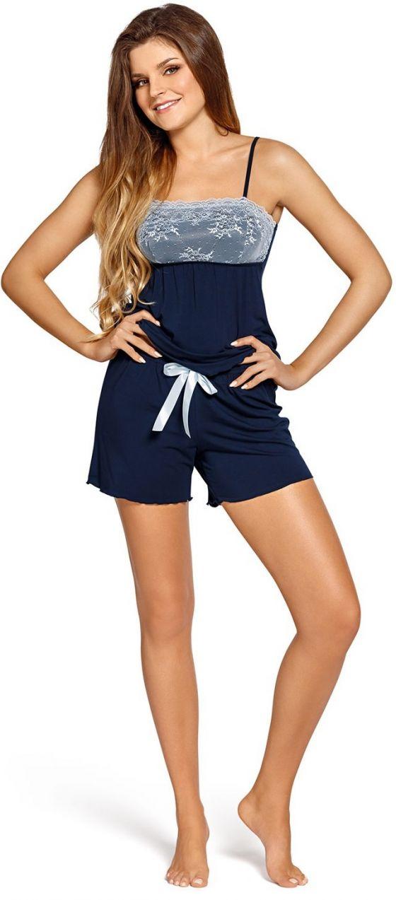 4852c165f Elegantné dámske pyžamo Colette Navy značky Babella - Lovely.sk