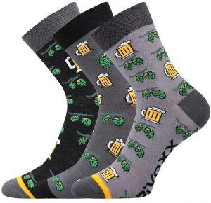 4e2cef38d 3 pack pánskych ponožiek Pivoxx Mix3