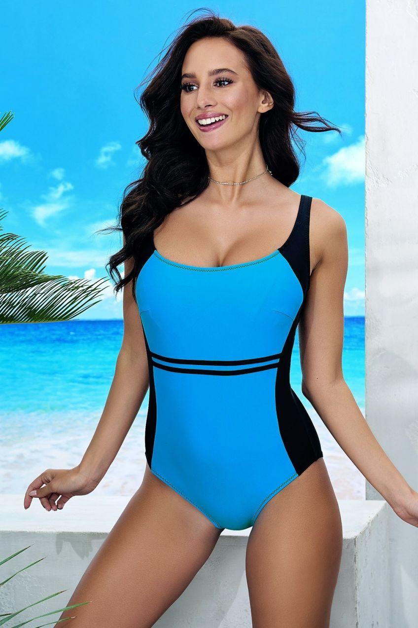 675012b72eb Dámske jednodielne plavky Bret Blue značky Volin - Lovely.sk
