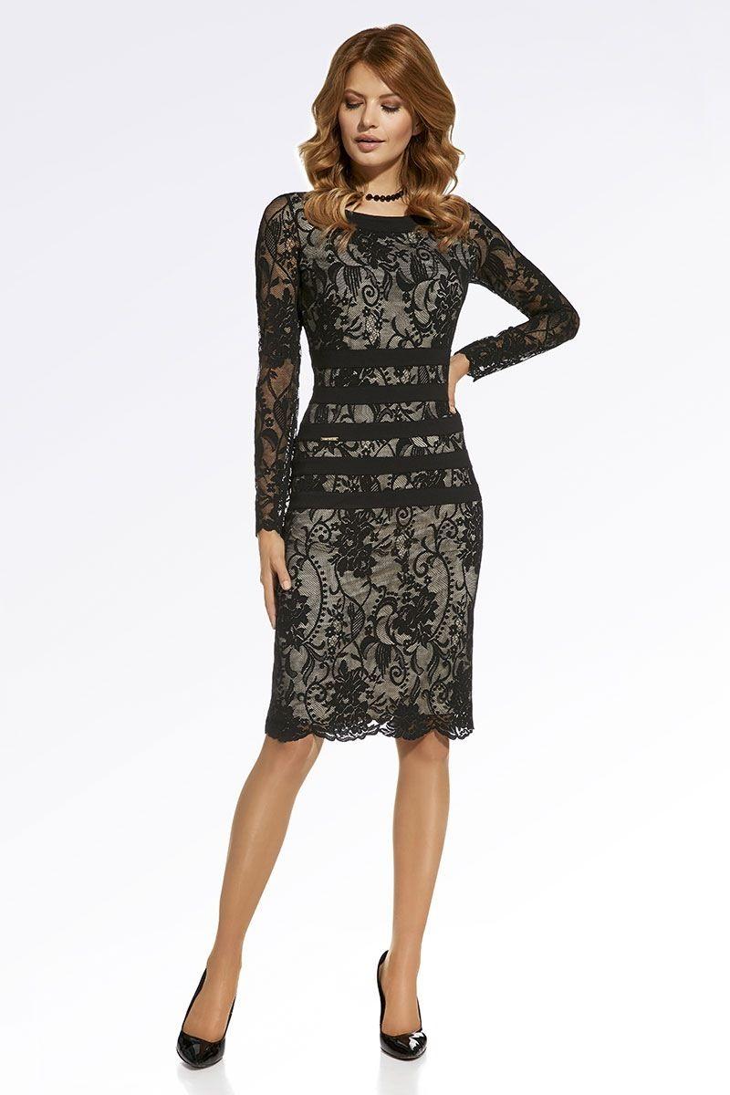df546a62b9d1 Luxusné čipkované šaty Ilaria značky Enny - Lovely.sk