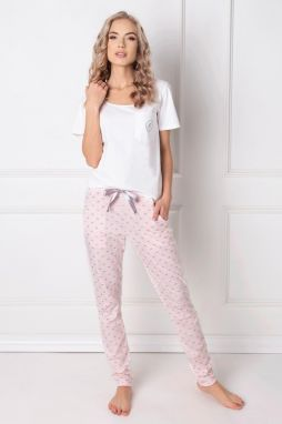 db1c4eeaa4bc Saténové dámske pyžamo Petra značky Irall - Lovely.sk