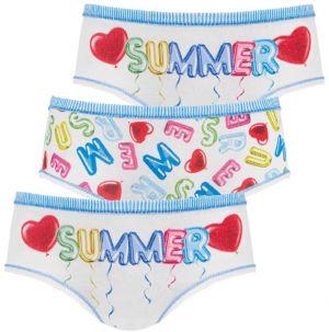 011e3aba2 3 pack dievčenských nohavičiek Summer