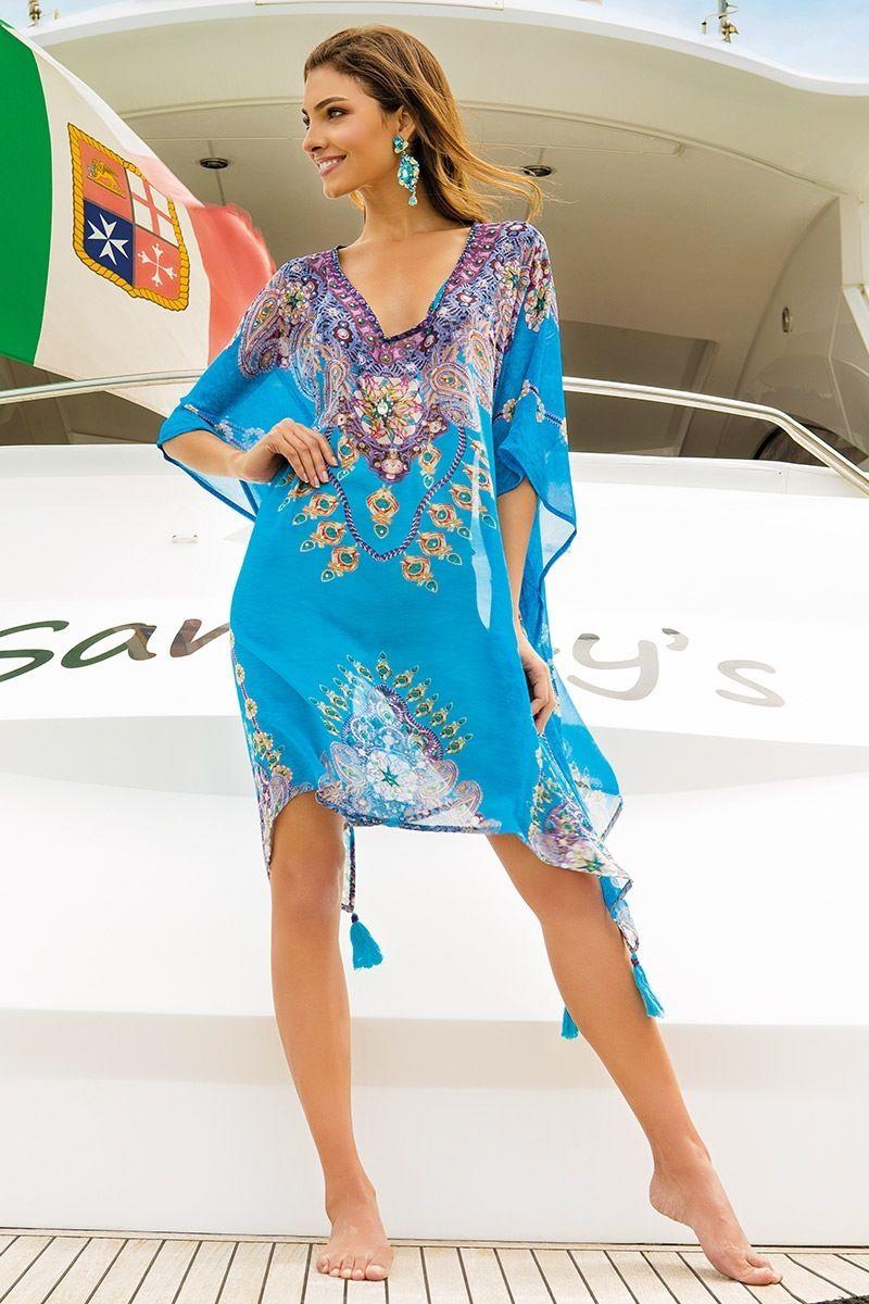 6c3df3a3a786 Dámske plážové šaty Camila z kolekcie Iconique značky Iconique ...