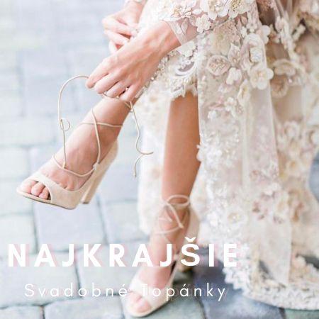 a65d215695af Najkrajšie svadobné topánky - Lovely.sk
