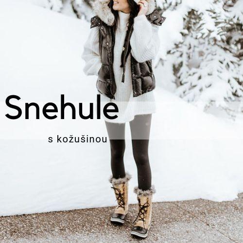 b755dd2db19c Dámske snehule s kožušinkou - Lovely.sk